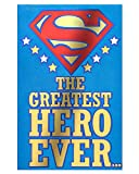 American Greetings Superman Hero Father's Day Card with Pop-Up