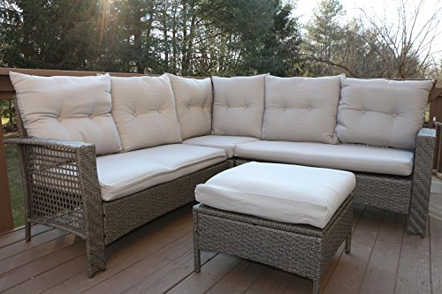Oliver-Smith-Large-4-Pc-High-Back-Rattan-Wiker-Sectional-Sofa-Set-Outdoor-Patio-Furniture-Aluminum-Frame-with-Ottoman-9514-Beige