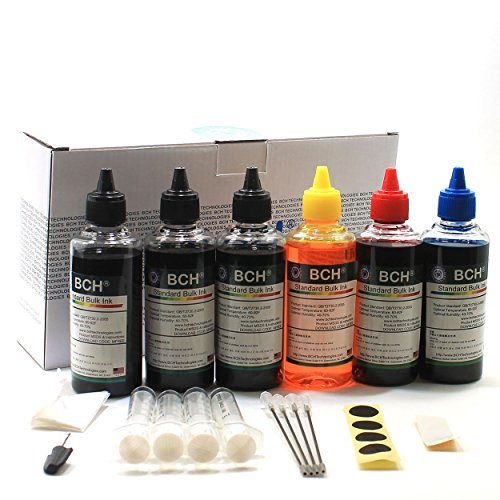 BCH Standard 600 ml Refill Ink Kit for All Printers