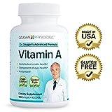 Dr. Dzugan's ADVANCED Vitamin A Formula :: GMP Certified, Gluten Free! :: 10,000IU 100 Softgels :: Skin Health, Eye Health, Antioxidant