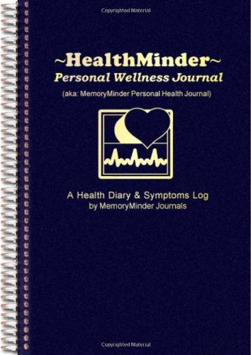 51ayfO1iiHL - HEALTHMINDER Personal Wellness Journal Health Diary and Symptoms Log