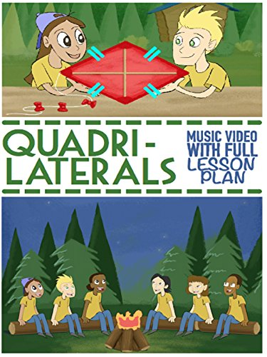 Quadrilaterals Song and Music Video For Kids: 2D Shapes Animated Cartoon