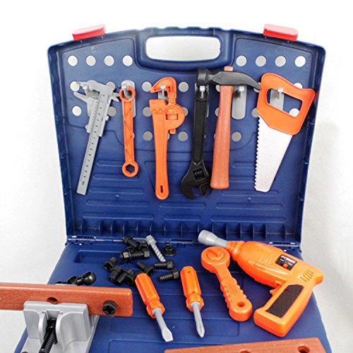 Toy Tool Kits For Girls : Megatoybrand workbench kids tool set top quality workshop