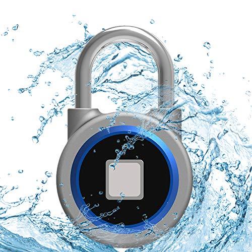 INVALID-DATA-Leegoal-Fingerprint-and-Bluetooth-Connection-Metal-IP65-Smart-Padlock-with-USB-Charging