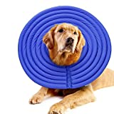 TizzyPet Ultra-Light Waterproof Dog Recovery Collar, Pet Recovery E-Collar Pet Cone for Dogs Cats