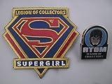 Supergirl Patch + Atom Pin