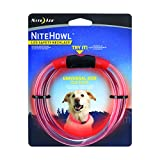 Nite Ize NHO-10-R3 Howl LED Safety Necklace, Red, Adj,