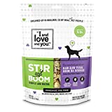 """""""I and love and you"""" Stir & Boom, 'Raw Raw Turk Boom, Ba' Homemade Freeze Dried, Grain Free Dehydrated Dog Food, 5.5 LB """""""" Makes 36 lbs. of Wet Food (Packaging May Vary)"""