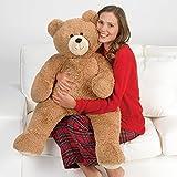 Vermont Teddy Bear - 3 Foot Big Teddy Bear, Plush Stuffed Animal, 3 Feet Tall, Brown