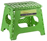 Product review for Greenco Super Strong Foldable Step Stool for Adults and Kids - 11 inches in Height, Holds up to 300 Lb