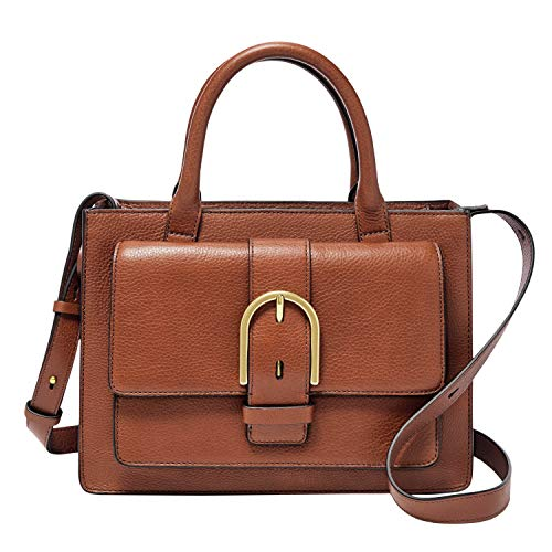 Fossil-Womens-Wiley-Leather-Satchel-Purse-Handbag