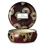Voluspa Goji Tarocco Orange 3 Wick Tin Candle, 12 Ounces