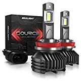 H11/H8/H9 LED headlight bulbs 12,000 Lumen High Power 6000K SEALIGHT S3 Upgraded Series 3 Yr Warranty(2 Pack)