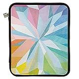 Erin Condren Planner Folio - Kaleidoscope Colorful, Medium (9' x 11')