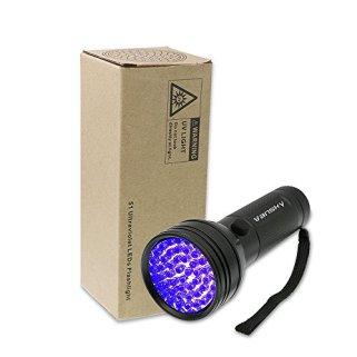 Black-Light-UV-Flashlight-Vansky-2019-Upgraded-UV-lights-51-LED-Ultraviolet-Blacklight-Pet-Urine-Detector-For-DogCat-UrineDry-StainsBed-Bug-Matching-with-Pet-Odor-Eliminator