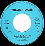 Burn a candle for me (1989) / Vinyl single [Vinyl-Single 7'']