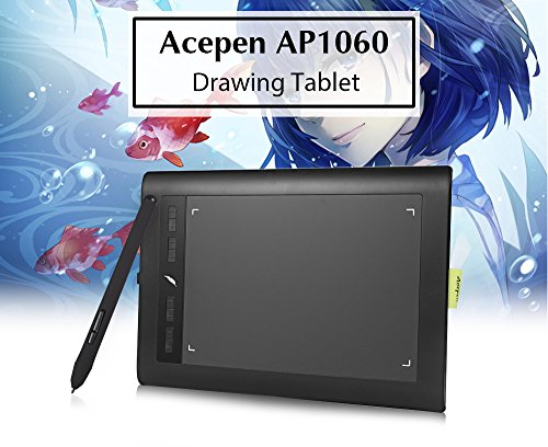 IDS Home Acepen AP1060 Graphic Drawing Tablet 10 x 6 inch