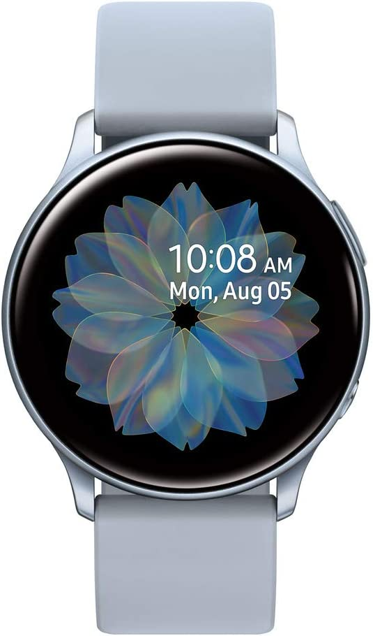 Samsung Galaxy Watch Active2 W/ Enhanced Sleep Tracking Analysis, Auto Workout Tracking, and Pace Coaching (44mm, GPS, Bluetooth, Unlocked LTE), Silver - US Version with Warranty
