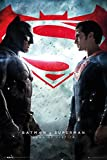 Batman vs. Superman: Dawn of Justice - Movie Poster/Print (Regular Style - Batman & Superman/Logos) (Size: 24 inches x 36 inches)