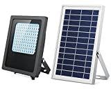 Solar Lights Outdoor 120LED Solar Flood Light Weatherproof Solar Powered Lights Solar Flood Lights Outdoor Auto On/Off Solar Security Light for Yard Patio Driveway Garage House Porch Pool Sign Barn