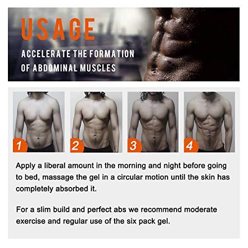 Hot Cream 2Pcs,Anti Cellulite Cream, Fat Burning Cream - Natural Body Slimming Cream for Abdominal, Arms and Thighs. 6