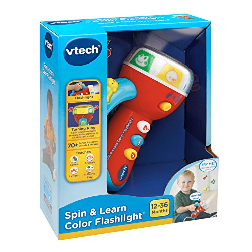 VTech Spin and Learn Color Flashlight - Lime Green ...