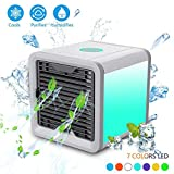 DOEWORKS Air Cooler Personal Air Conditioner Cooler, Humidifiers, Portable Mini Size Table Fan for office