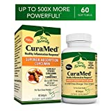 Terry Naturally CuraMed 750 mg - 60 Softgels - Superior Absorption BCM-95 Curcumin Supplement, Promotes Healthy Inflammation Response - Non-GMO, Gluten-Free, Halal - 60 Servings