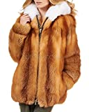 Product review for Frr Real Fox Fur Parka Coat With Hood For Women