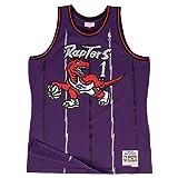 Mitchell & Ness Tracy McGrady Toronto Raptors Swingman Jersey Purple (Small)
