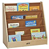 ECR4Kids Birch and Canvas Single-Sided BookDisplay