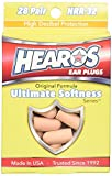 HEAROS Ultimate Softness Series Ear Plugs 28 Pair
