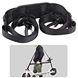 TOMALL Adjustable Carrying Belt Strap Hand Carrying Handle Shoulder Strap Belt for Xiaomi Mijia M365 Electric Scooter Kids Bikes Foldable Bicycle