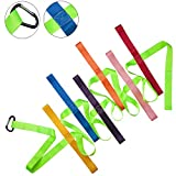 Walking Rope for Preschool, 12 Colorful Toddler Walking Rope Preschool Line up Rope with Buckle for Preschool Children Toddlers Daycare Schools Teachers, 12 Feet Long【Fluorescent Green】