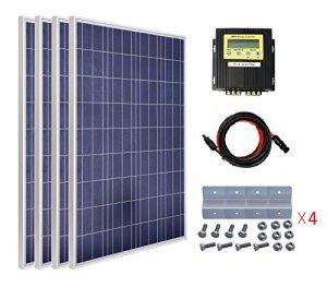 ECO-WORTHY 400W Poly Solar Panel Kit Off Grid