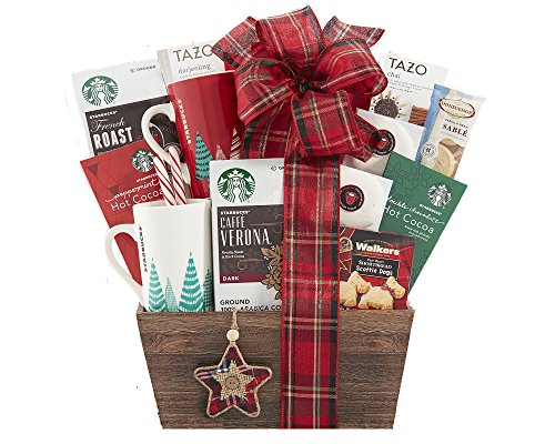 Wine Country Gift Baskets Starbucks Coffee and Tazo Tea Collection