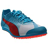 PUMA Men's Evospeed Star v4-m, White/Atomic Blue/Red Blast 12 D US