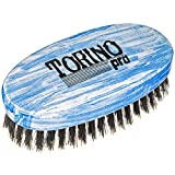 Torino Pro Medium Wave Brushes By Brush King #32- Oval Palm brush - For 360 waves