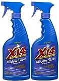 X-14 Mildew Stain Remover, 16 oz-2 pk