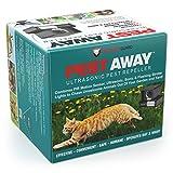PREDATORGUARD PestAway Ultrasonic Outdoor Animal & Cat Repeller with Motion Sensor Stops Pest Animals Destroying Your Gardens & Yard