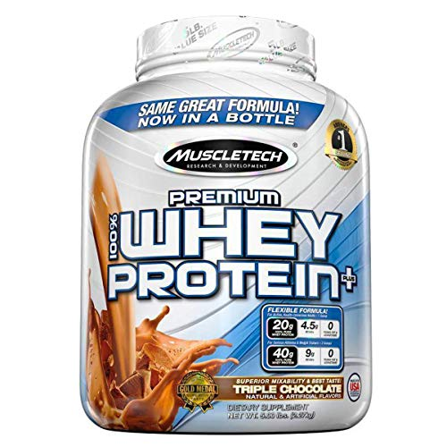 Muscletech Premium 100% Whey Protein Plus – 2.27 kg (Triple Chocolate)