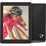 Nixplay Seed Ultra 2K High Definition WiFi 10 Inch Digital Picture Frame, with E-Mail, iPhone & Android App, Free 10GB Online Storage, Google Photos, Facebook, Motion Sensor