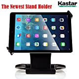 Kastar 360 Swivel Rotating Stand Holder Tabletop Stand with Collapsible Base for all iPad series: iPad1, iPad2, iPad3, iPad4, iPad Mini, iPad Air, Samsung Galaxy Tablets and 7'-10' Tablet PC (BLACK)