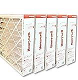 Honeywell FC100A1037 20'x25'x4' Merv 11 Filter Media,(Packaging may vary) Pack of 5
