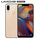 UMIDIGI A3 Pro GSM Unlocked Cell Phones 3GB+32GB(Expandable Storage to 256G) 5.7' inch 19:9 Full-Screen Display 12MP + 5MP Dual Camera Global Band Dual 4G LTE 2 + 1 Card Slots Android 8.1(Rose Gold)