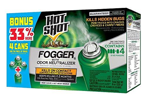 Hot Shot Indoor Fogger With Odor Neutralizer,...