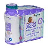 Himalaya Gentle Baby Soap (75g, Buy 3 Get 1 Free)