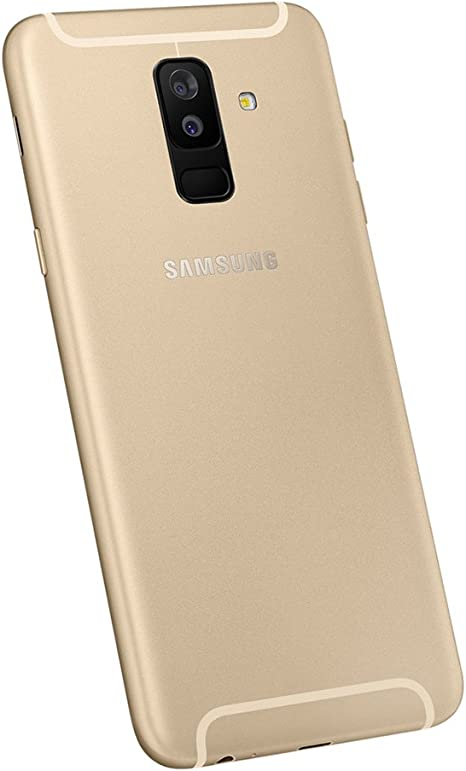 Amazon Com Samsung Galaxy A6 A605g Gsm Unlocked 6 Samoled Infinity Display With Live Focus Dual Camera Smartphone Gold