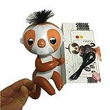 Pretty-magic Happy monkey pack Finger Interactive Baby Pet Smart Electronic Pet finger monkey,Recording sloth