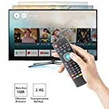 Air Remote Mouse,STRQUA MX3 Multifunction 2.4G Fly Mouse Mini Wireless Keyboard & Infrared Remote Control & 3-Gyro + 3-Gsensor for Google Android TV/Box, IPTV, HTPC, Windows, MAC OS, PS3,Chrome Box